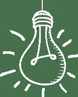 ikona żarówki świecącej