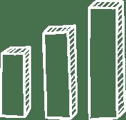 ikona wykres słupkowy