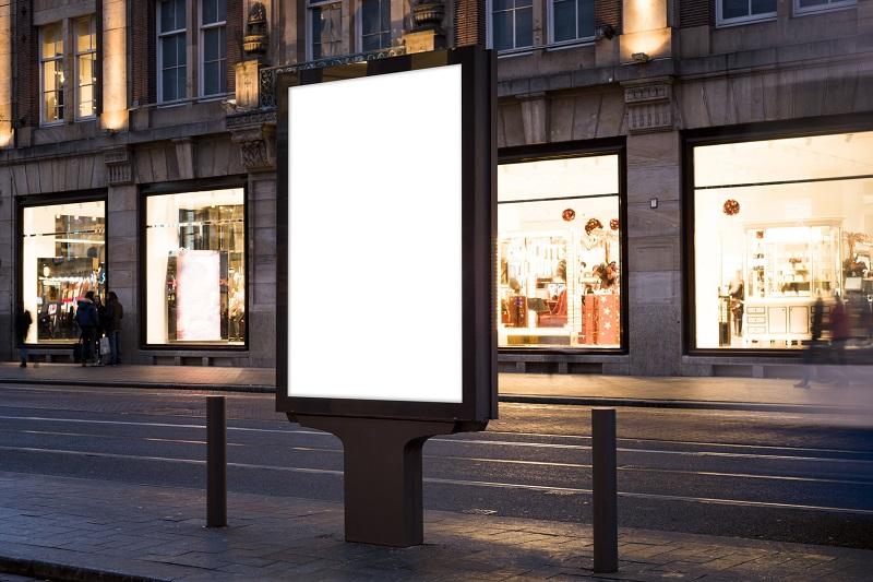 Reklama w przestrzeni zewnętrznej